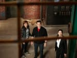 Warehouse 13 Holiday Scene
