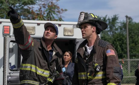 Severide and Casey - Chicago Fire