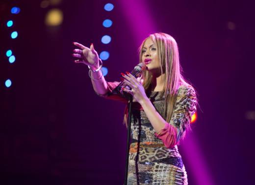 Breanna Steer on Stage