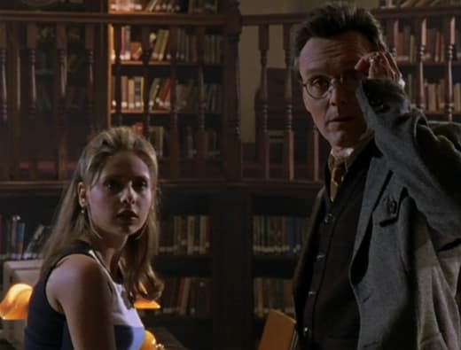 Giles's Nightmare - Buffy the Vampire Slayer Season 1 Episode 10