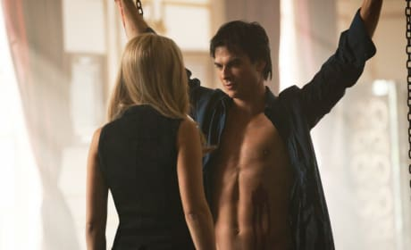 Chained Up Damon