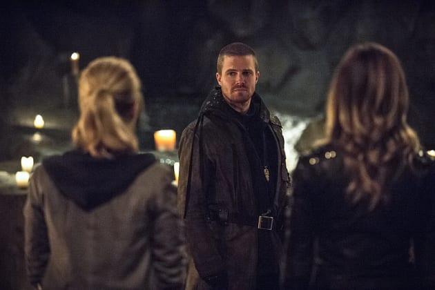 The Look - Arrow Season 3 Episode 22