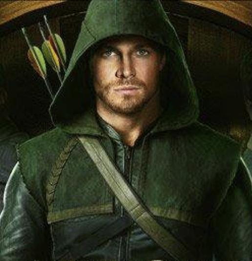 Stephen Amell as Arrow Photograph