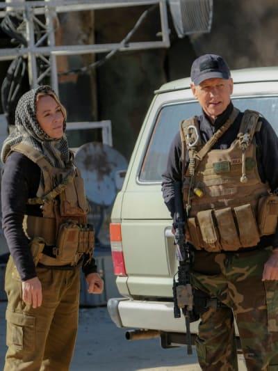 Heading to Afghanistan -- Tall - NCIS Season 18 Episode 8
