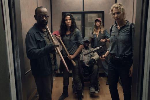 Going Down? - Fear the Walking Dead Season 4 Episode 15
