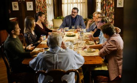 Reagan Family Dinner - Blue Bloods Season 7 Episode 7