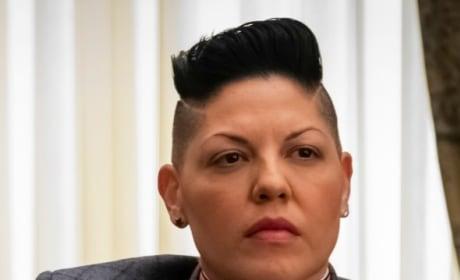 Kat at a Conference - Madam Secretary Season 5 Episode 18