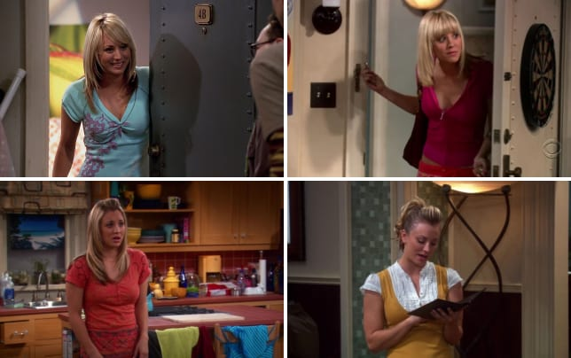 The big bang theory the evolution of pennys style season 1