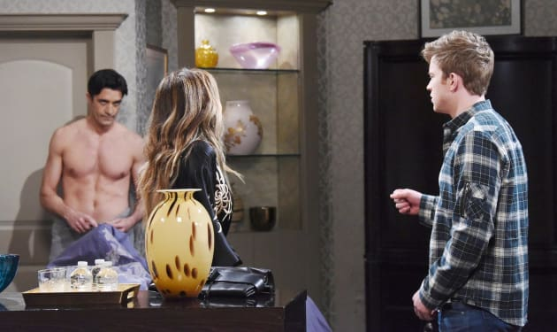 Will Reveals Ted's True Colors - Days of Our Lives