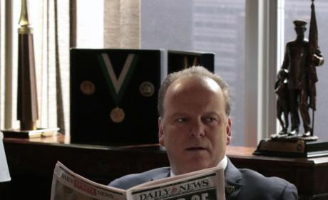 Sid Reads About Garrett - Blue Bloods