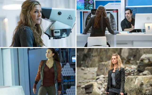 Abby the 100 season 4 episode 5
