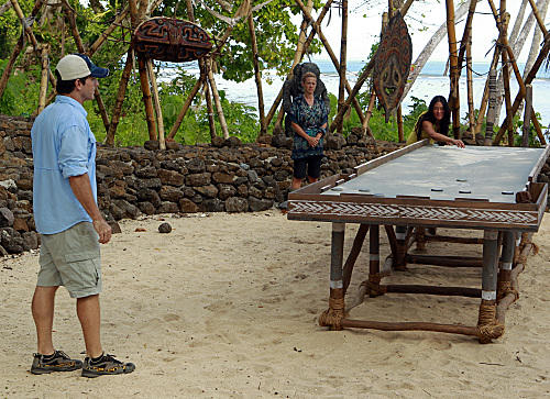 Jeff Probst, Christine Shields Markoski and Elyse Umemoto