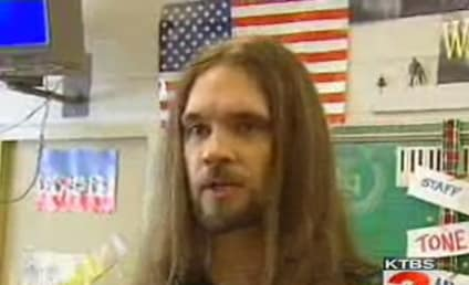 Bo Bice Surprises Middle School Students, Makes Music Equipment Donation