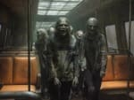 Through the Subway - The Walking Dead
