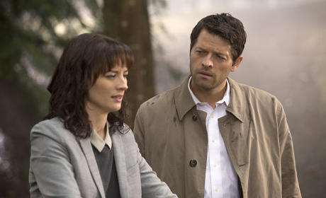 Hannah and Castiel - Supernatural Season 10 Episode 7