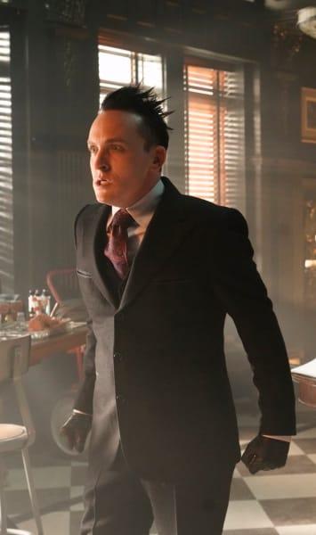 Upset Penguin - Gotham Season 5 Episode 8