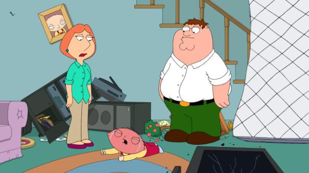 Stewie Gets Steamed