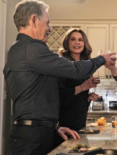 Kitbell Celebrates - Tall - The Resident Season 4 Episode 9