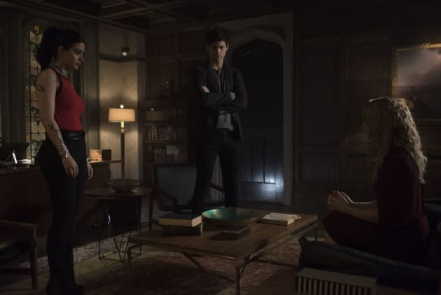 Suspicions  - Shadowhunters Season 3 Episode 15