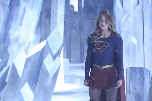 Stopping Non - Supergirl
