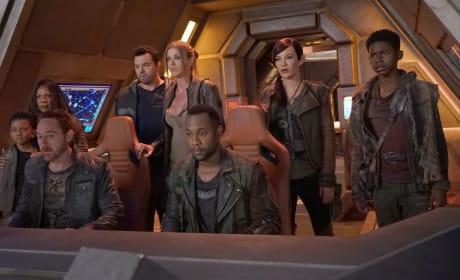 A Crowded Bridge - The Orville Season 2 Episode 14