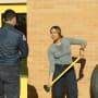 Dawson trains as Mills looks on - Chicago Fire Season 3 Episode 6