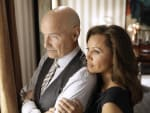 Terry O'Quinn and Vanessa Williams