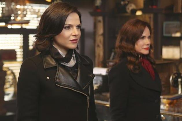 Regina with Cora