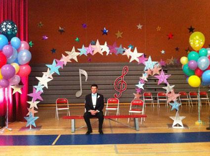 Finn at Prom