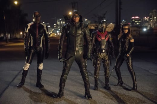 Meet New Team Arrow Season 6 Episode 3