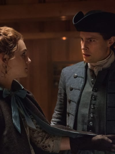 Support from Lord John - Tall - Outlander Season 4 Episode 12