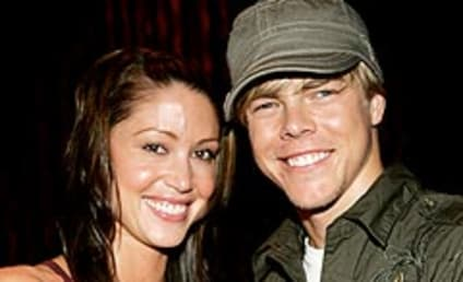 Derek Hough is Living with Shannon Elizabeth