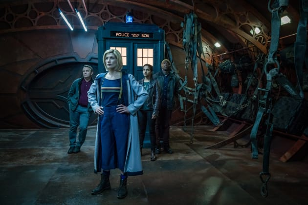 The T.A.R.D.I.S. Arrives - Doctor Who Season 11 Episode 10