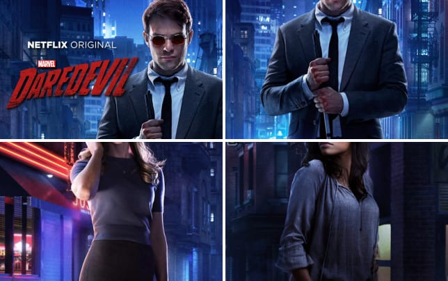 Daredevil season 1 character posters marvels daredevil character posters