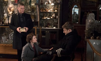 Once Upon A Time Photos: Rumple and Belle Fight for Gideon