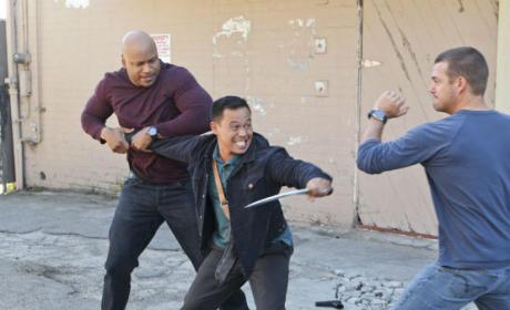 NCIS: LA Fight