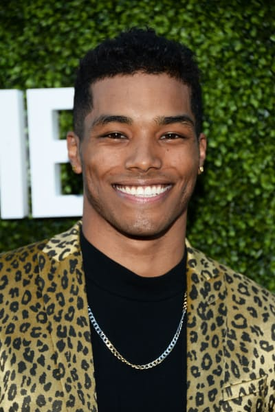 Rome Flynn Attends TCA Party