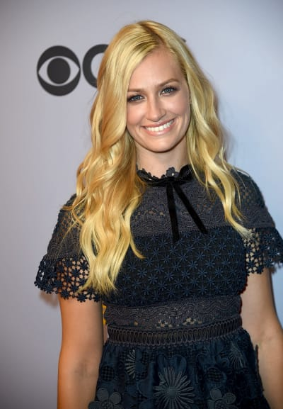 Beth Behrs Attends Event