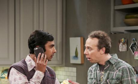 Raj and Stuart Have Baby Troubles - The Big Bang Theory Season 10 Episode 15