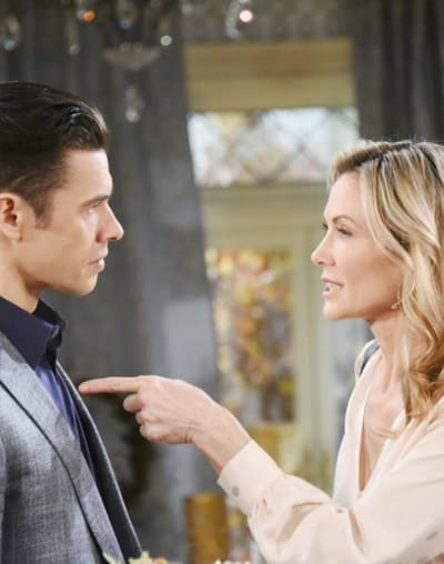 (TALL) Kristen Pressures Xander - Days of Our Lives