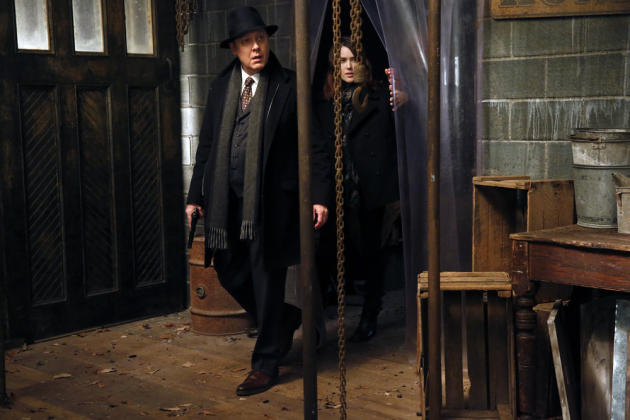Red and Liz on the hunt - The Blacklist Season 4 Episode 16