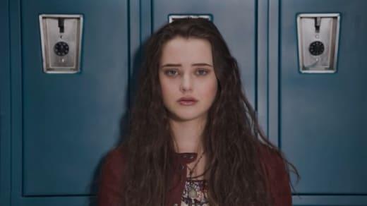 Hannah by her locker - 13 Reasons Why