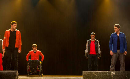 Glee Picture Preview: Who's Feuding?