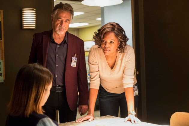 Rossi and Dr. Lewis - Criminal Minds
