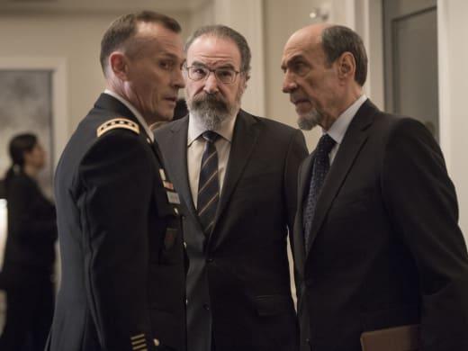 Dar and Saul Brief Elizabeth Keane - Homeland Season 6 Episode 1