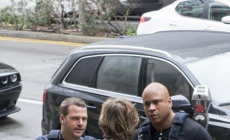 Comparing notes - NCIS: Los Angeles Season 8 Episode 15