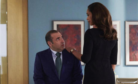 Jessica & Louis - Suits Season 5 Episode 10