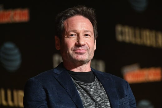 David Duchovny Promotes The X-Files