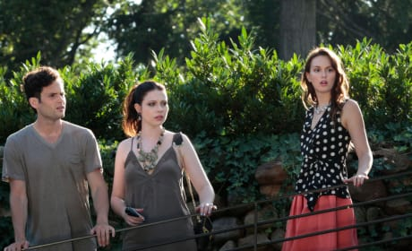 Blair, Dan and Georgina