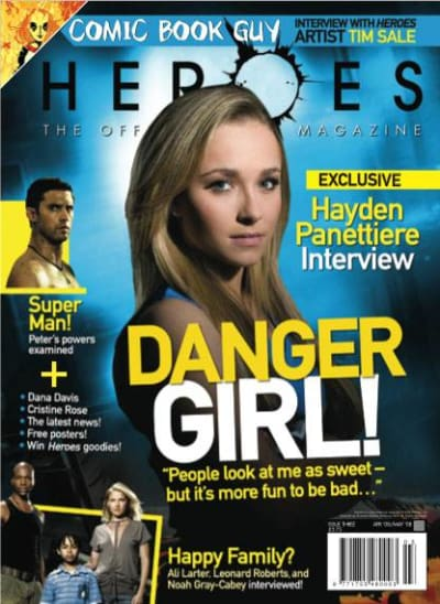 Heroes Magazine Cover Girl